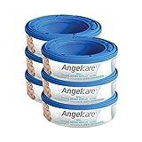 Angelcare Nachfüllkassetten 6 Pro Packung - Packung mit 4