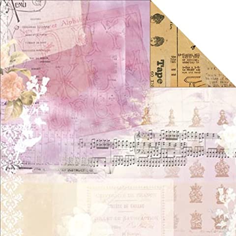 BoBunny Presse Papier-Belle La Vie!