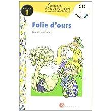 EVASION NIVEAU 1 FOLIE D'OURS + CD (Evasion Lectures FranÇais) - 9788429409215