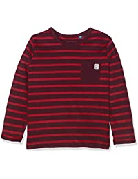TOM TAILOR Kids Baby Boys' Striped T-Shirt With Pocket Long Sleeve Top