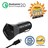 Best Usb 2.0 Car Chargers - Tech Sense Lab Qualcomm Certified Quick Charge 2.0 Review