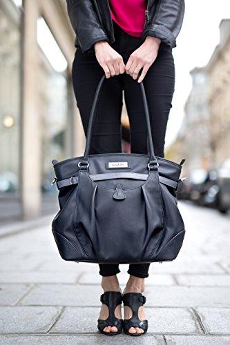 Babymoov A043570 Wickeltasche Glitter Bag, schwarz - 6