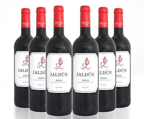 San Jamón Jaldún Crianza Rioja - Paquete De 6 X 750 Ml - Total: 4500 Ml