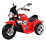#1: HLX-NMC BATTERY OPERATED FUN CRUISER BIKE - RED
