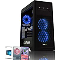 ADMI GTX 1060 GAMING PC: High-End Gaming Desktop Computer: AMD Piledriver FX-8300 8 Core 4.2GHz Turbo CPU / NVIDIA GeForce GTX 1060 3GB GDDR5 4K Graphics Card / 8GB 1600MHz DDR3 RAM / 1TB Hard Drive / 500W PSU Bronze Rated / HD Audio / USB 3.0 / HDMI/4K Ultra HD Support / Game Max Titan Blue LED Gaming Case / DVDRW 24x / Pre-Installed with Windows 10