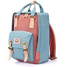 Unisex Mochila Elegante Multifuncional impermeable Mochila para portátil Bolsa de la escuela Mochila de viaje Daypack