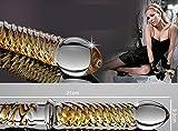 Sexy Hoffnung Kristall Glasdildo - Vibrators Penis G-Punkt-Stimulator Massagegerät Anal