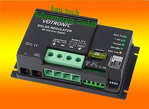 Votronic Laderegler SR220 Digital 14A / 12V von bau-tech Solarenergie GmbH