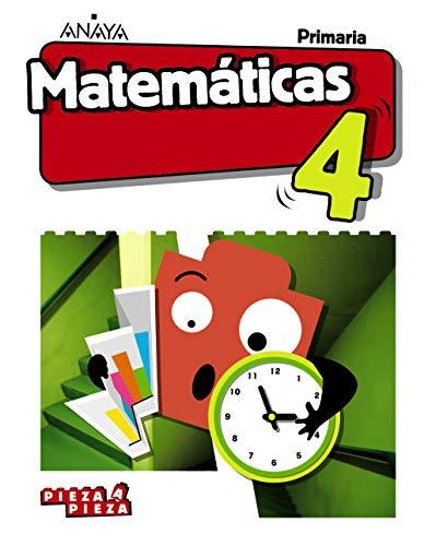 Matemáticas 4 (Incluye Taller de Resolución de problemas) (Pieza a Pieza)