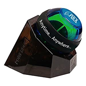 Dynaflex Sports Pro Gyro Exerciser Ball w/Dock Prevents Carpal Tunnel Wrist