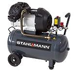 STAHLMANN 50 L Kolbenkompressor 2,2kW 10 bar Profi-Gerät mit kupfergewickeltem Motor