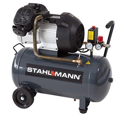 Preisvergleich Produktbild STAHLMANN 50 L Kolbenkompressor 2,2kW 10 bar Profi-Gerät mit kupfergewickeltem Motor