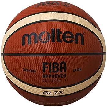 MOLTEN balón de Baloncesto, Orange/Ivory, 7, BGL7X: Amazon.es ...