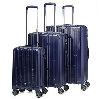 Aerolite Maleta, azul marino (Azul) – PET105 NAVY 3 PCS SET Vendor