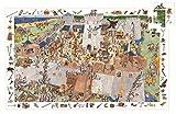 Puzzle Burg und Ritter