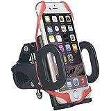 AVCS–Soporte de Bicicleta Motocicleta o bicicleta teléfonos inteligentes Cradle Ciclismo GPS abrazadera ajustable soporte universal para teléfonos móviles iphone 6, Samsung Galaxy, HTC, Lumia, Nexus, Nokia, etc.