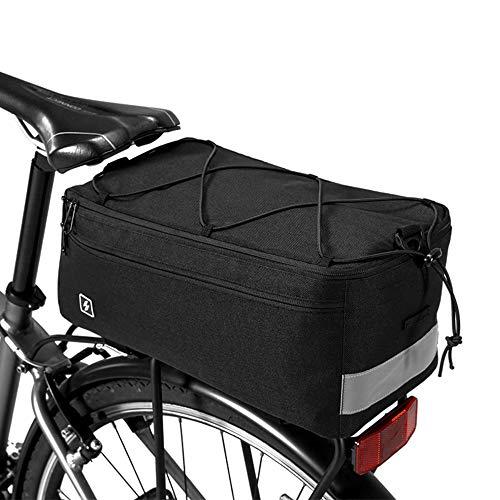 Lixada Multi Funktion Radfahren Isolierte Kofferraumkühltasche, Fahrrad-hintere Sitztasche, Gepäckträger-Pannier-Tasche