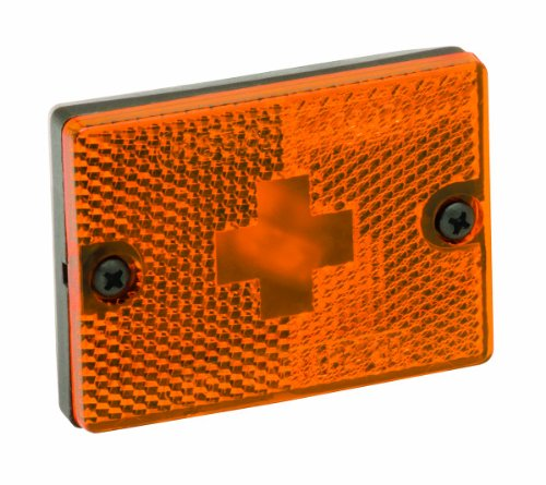 """WESBAR AMBER SIDEMARKER CLEARANCE LIGHT W/ 18"""" PIGTAIL"""