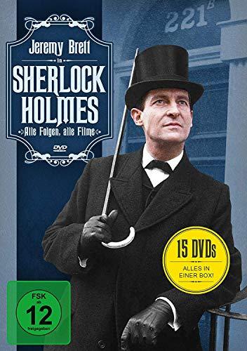 Kostüm Ländern Verschiedene - Sherlock Holmes - Alle Folgen, alle Filme (15 DVDs)