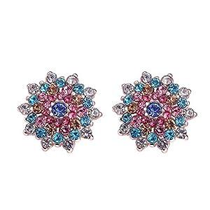 ZYUEER BöHmische Art Perlen Handgemachtes Rattan Geometrisches Tropfen Damen Jewelr