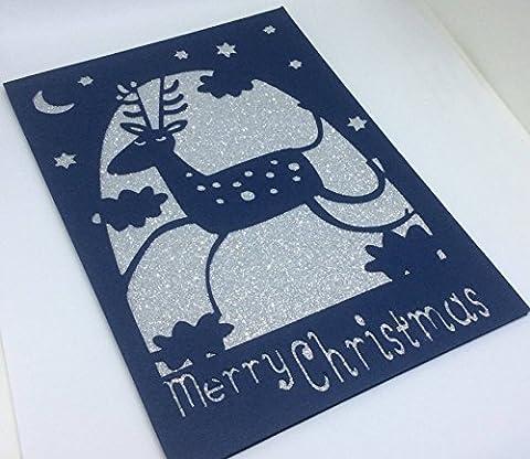 Christmas Card pack, Christmas cards set, handmade Christmas Cards, Happy Holidays, festive cards, Seasons Greetings, cute Christmas