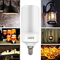 E-JIAEN LED Flame Effect Fire Light Bulb 5W 700 Lumen B22 Bayonet / E14 E27 Screw Decoration Lighting on Christmas Halloween Holiday Party - 2018 Version by E-JIAEN