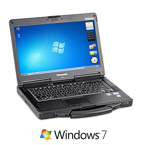 'Panasonic Toughbook 53 MK2 Outdoor di NOTEBOOK (Intel Core i5 2.6 GHz, 35,6 cm (14) WXGA, 4 GB RAM, 500 GB HDD, DVD RW, WIN 7)