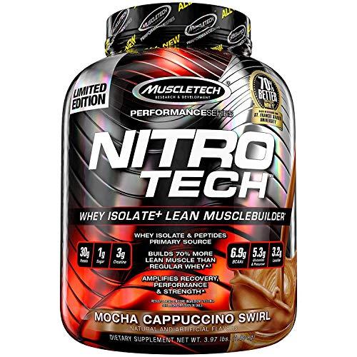 Muscletech Performance Series Nitro-Tech Mocha Cappucino Swirl - 1800 gr
