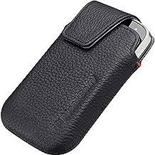 Blackberry Custodia in Pelle con Gancio alla Cintura per Modello 9900 Bold Dakota, Nero