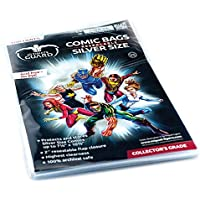 Ultimate Guard Comic Bags Resealable Silver Size (100) Ultimate Guard