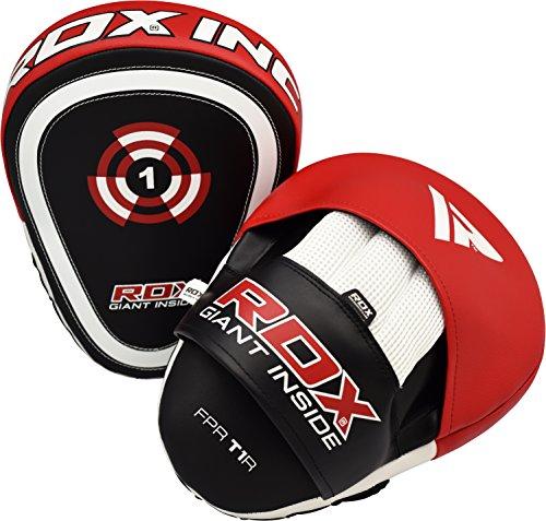 RDX MMA Manoplas Boxeo Paos Muay Thai Kick Boxing Artes Marciales Entrenamiento Patada Pad