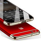 Coque Huawei P10 Lite 5,2 pouces, MSVII® 3-in-1 Design PC Coque Etui...