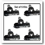 Set of 5 Five Kits 56029398AB Fits: Chrysler - Dodge - Fiat - Jeep - Ram by Schrader