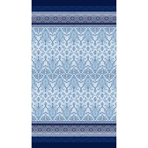 Bassetti Faraglioni V3 Foulard, Baumwolle, Blau, 270X270 cm -