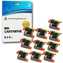 20 Compatibles Canon BCI-15/16 Cartuchos de tinta para Pixma IP90 i70 i80 Selphy DS700 DS810 MINI220 - Negro/Color, Alta Capacidad