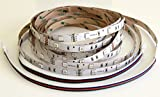 SKYFIELD 5 m Komplettset LED SMD RGB Streifen Strips inklusive Infrarot Controller, 44 Tasten Fernbedienung, Netzteil IP44-5m-44T