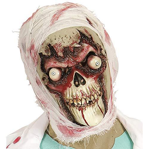 WIDMANN VD-WDM96571 - Máscara de calavera zombi, talla única