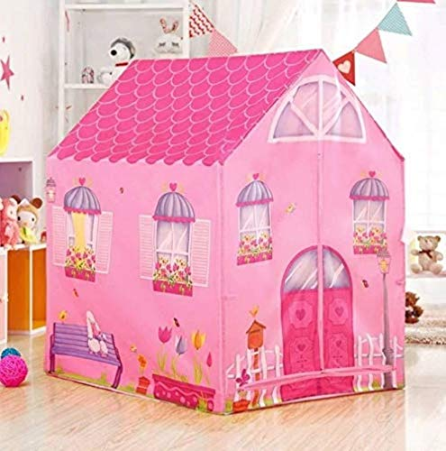 TULSI Enterprise Jumbo Size Extremely Light Weight , Water & Fire Proof Doll House Tent for Girls (Doll House)