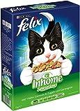 Felix Katzentrockenfutter Inhome Sensations (mit Huhn Getreide und Zugabe von Gartengrün) 1 kg Karton