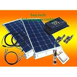 Wohnmobil Solaranlage Komplettpaket 200Watt
