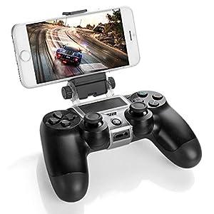 Link-e : Universal smartphone handy / telefon unterstützung mit micro USB kabel für Sony PS4 Dualshock wireless controller (clip, klammer, Iphone, Samsung, HTC, Android, Huawei, LG…)