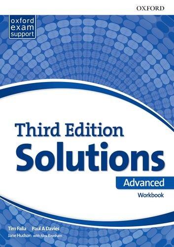 Solutions 3rd Edition Advanced. Workbook (Solutions Third Edition) por Tim Falla