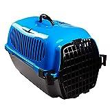 CHONGWFS Gabbia per animali domestici per animali domestici di moda Pet Adatta per piccoli animali domestici Come gatti/cani di piccola taglia/criceti possono essere collocati nel seggiolino auto