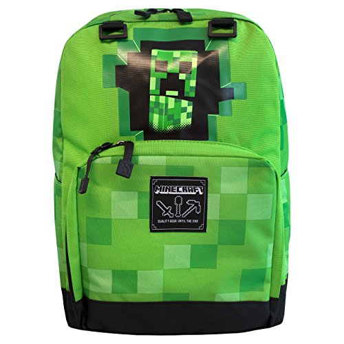 Minecraft Enfants Creeper Sac à dos