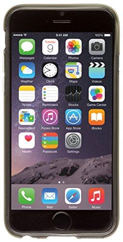 Pro-Tec Flexi TPU Schutzhülle Case Cover für iPhone 6/6S - Schwarz Smokey Schwarz