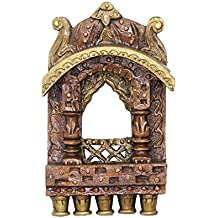 APKAMART Handcrafted Traditional Jharokha - 10 inch - Wall Hanging and Decorative for Wall Decor, Room Decor, Home Decor and Gifts