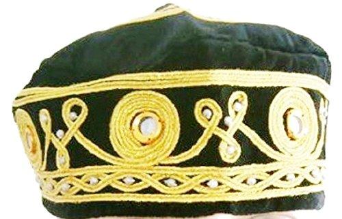 Orientalische Mütze Volkskundlich Fez, Authentisch Türkisch Fes, Handgemachte Kappe, Exotisch Ottoman Hut - nicht angegeben, Blau Spiegel