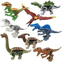 Nisels Bloques de construcción de los Mini Dinosaurios de los Cabritos, pequeños Bloques de construcción, Juguetes educativos, Juguetes de la educación temprana