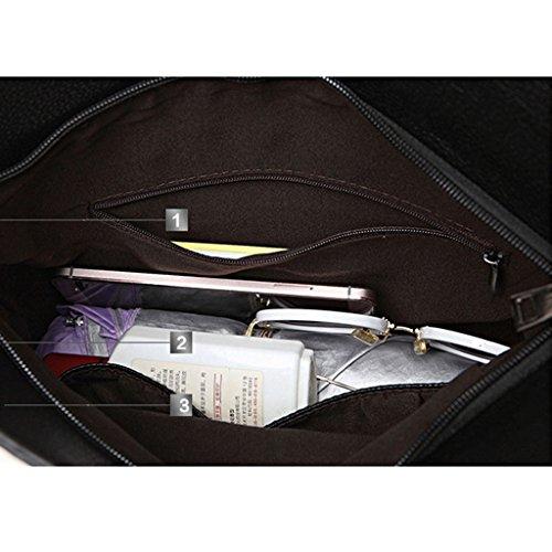 versione coreana della borsa del messaggero della spalla del pacchetto semplice pieghevole mano di nuovo modo di estate di grande capacità borse frizione ( Colore : Cielo blu ) Oro