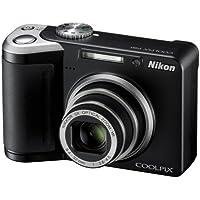 Nikon Coolpix P60 Digitalkamera (8 Megapixel, 5-fach opt. Zoom, 6,4 cm (2,5 Zoll) Display, Bildstabilisator) schwarz